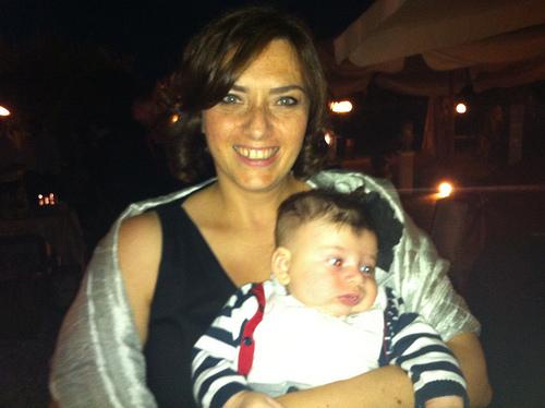 Serata Mondana in braccio a Mamma!